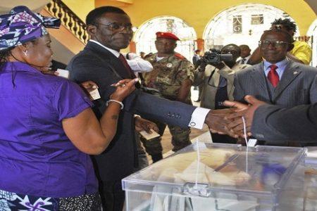 """Teodoro Obiang """"el PDGE me ha entregado las urnas de la victoria electoral de 2016"""""""