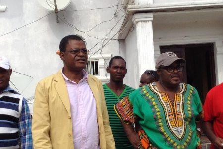 El dirigente de Fuerza Demócrata Republicana recibe una visita inesperada en Nkodjueiñ