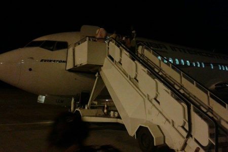El guardaespaldas de Obiang impidió durante dos horas que CEIBA despegue