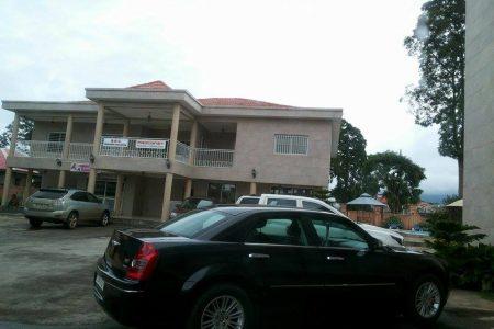 """El Edificio """"oficinas"""" de las empresas del Ministro Nko Mbula es propiedad del Ministro Don Malavo"""