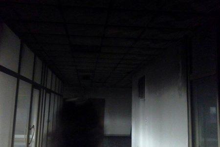 El Incendio en la quinta planta de CCEIBANK fue provocado. Han encontrado cajas fuertes forzadas