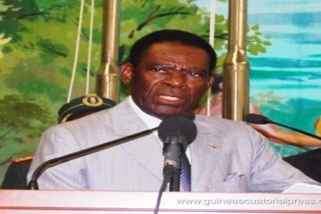 """Obiang """"Me da igual lo que publiqué Rombe en Internet pero apoyare a mi hija en Geproyectos"""""""