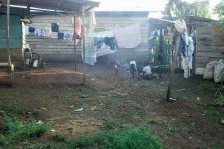 La pobreza en el barrio Argentina (Malabo) alias Nomba 2
