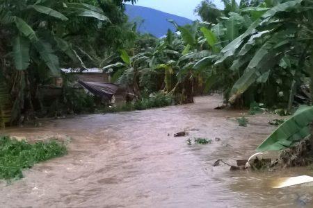 """Graves inundaciones en el barrio más pobre de Malabo """"Campo Yaunde"""""""