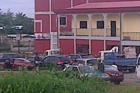 Las fuertes medidas de seguridad en Biyendem (Bata) por motivo del Congreso del PDGE