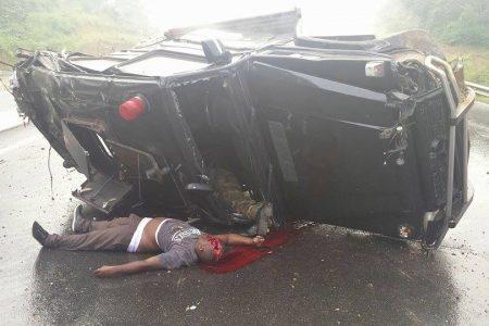 Nguema Obiang Mangue sobrevive en un accidente mortal donde murieron dos guardaespaldas