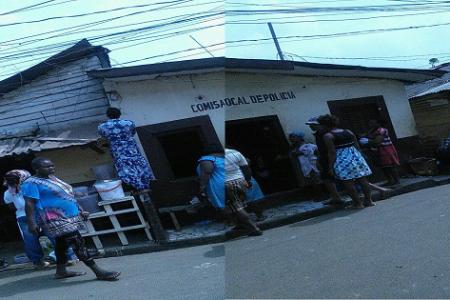 Casi se incendia la Comisaria Local de Campo Yaounde por un cortocircuito