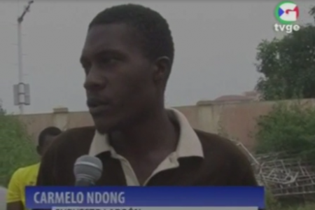 """Vídeo. Carmelo Ndong """"estoy robando por falta de empleo en Guinea Ecuatorial"""""""