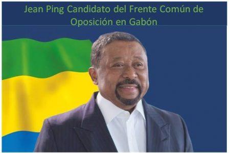 Jean Ping designado candidato de la Coalición Frente Unido a las presidenciales 2016