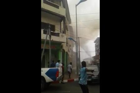 Un niño muere en un incendio en Malabo