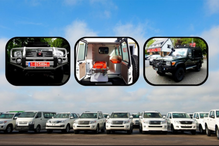El Gobierno de Obiang compra más de 50 vehículos blindados para la campaña del PDGE