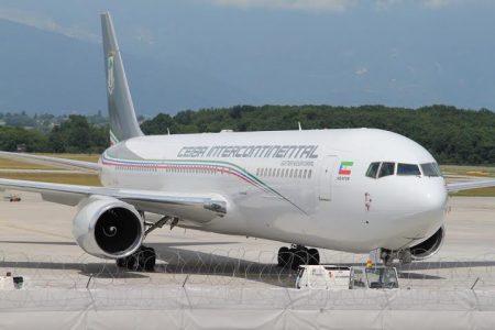 Nguema Obiang llegó está mañana a curaçao acompañado de 20 personas