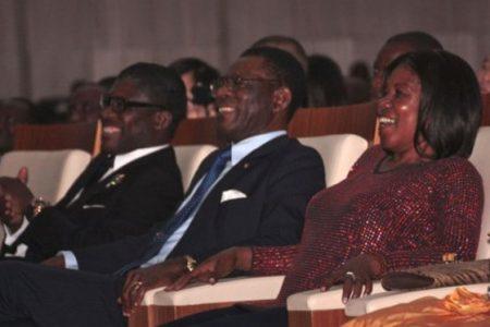 El Presidente Obiang en Zúrich (Suiza) para resolver el problema de su mujer