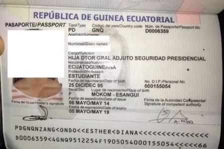 """Nuevos Pasaportes de GE: Cargo/Función: """"Hija de Drt Gral adjunto Seguridad Presidencial"""