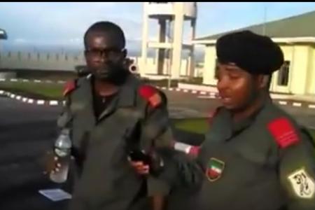 """El vídeo grabado en Black Beach """"el descontento de los militares"""""""