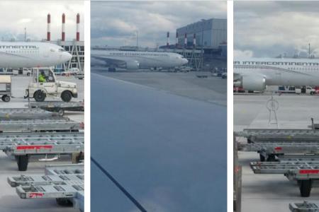 Diario Rombe localiza el Boing 777 estacionado en el Aeropuerto de Ginebra