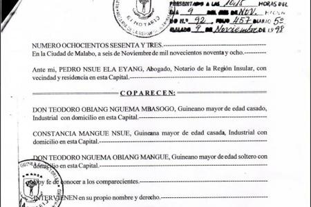 Asociaciones corporativas del Régimen ideadas para robar al pueblo guineano – La hora definitiva de una revolución