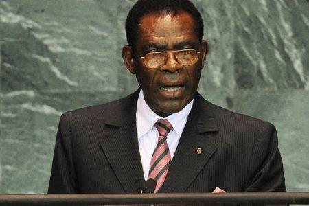 Obiang y su familia llega a Guinea a las 21 horas
