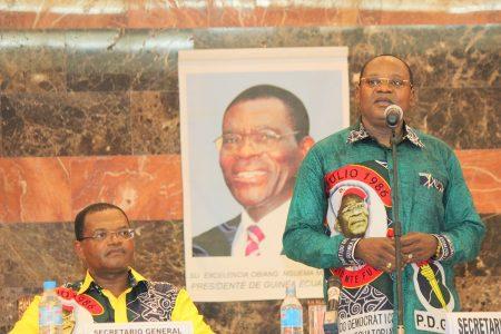 Irresponsable campaña electoral del PDGE