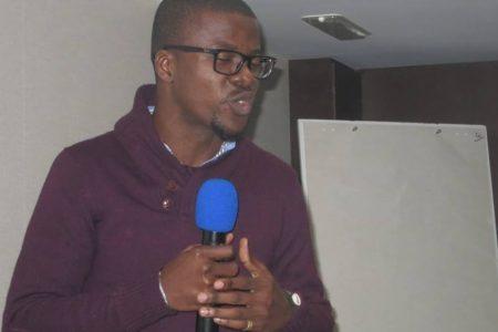 Intervención del Director de Diario Rombe en el aniversario de la Radio La voz de los Sin Voz