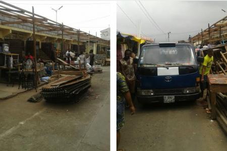 La alcaldesa de Malabo obliga a los comerciantes reformar el Mercado Central de Malabo con sus propios recursos