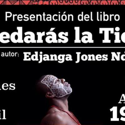 Edjanga Ndjoli Jones presentará en Valencia su libro »Heredarás la Tierra»