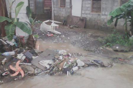 Inundaciones en Santa Maria 3 y 4 por las intensas lluvias
