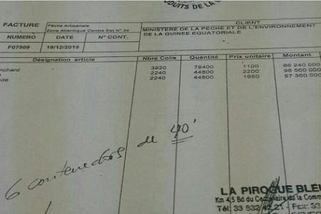 Los 6 contenedores de pescado que compró Guinea en Senegal costó 272.160.000 francos Cfa