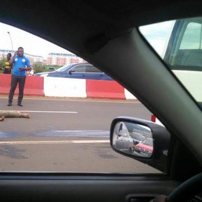 Fallece atropellado un joven al intentar cruzar la autopista en Malabo