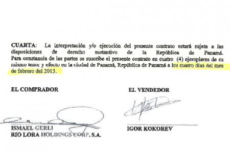 El abogado Roberto Moreno Obando y la familia Kokorev engañan al sistema judicial panameño