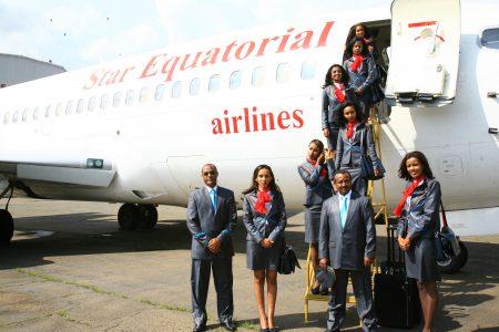 Obiang Nguema mantiene secuestrado el Boeing 737-200 propiedad de Star Equatorial Airline