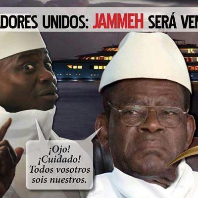 Obiang refugia al dictador Yahya Jammeh sus aliados y la fortuna robada al estado