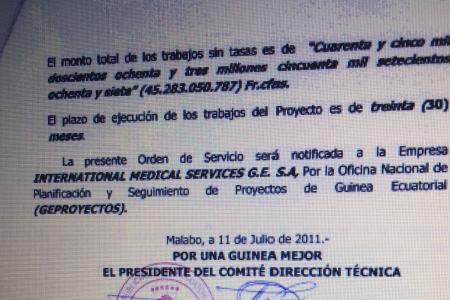 El fraude del proyecto de la ciudad de Oyala