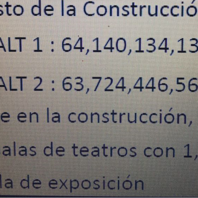 Obiang construye en Oyala un «nuevo teatro» valorado en 127.864.580.694 fcfa