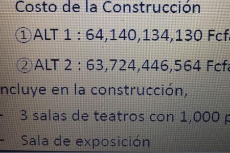 """Obiang construye en Oyala un """"nuevo teatro"""" valorado en 127.864.580.694 fcfa"""