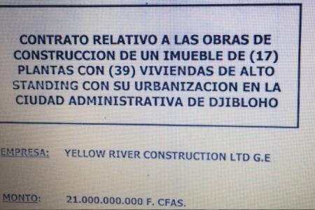 Resultado de la inspección de obras en Djiblohó: retrasos excesivos e injustificados