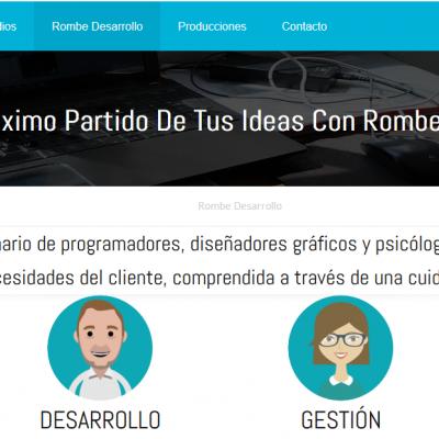 Grupo Rombe presenta su sitio web que contiene información detallada de sus medios y equipo directivo