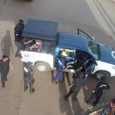 Detenciones de taxistas que estaban vigilando el cumplimiento de la huelga general