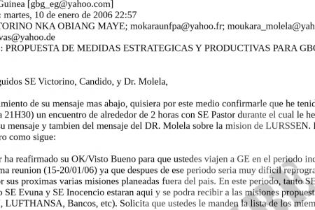 Filtración de las operaciones del GBGEG y su vínculo con compañías internacionales (I)