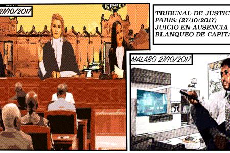 La Juez advierte a Teodoro Nguema Obiang que entrará a prisión si vuelve a delinquir en Francia