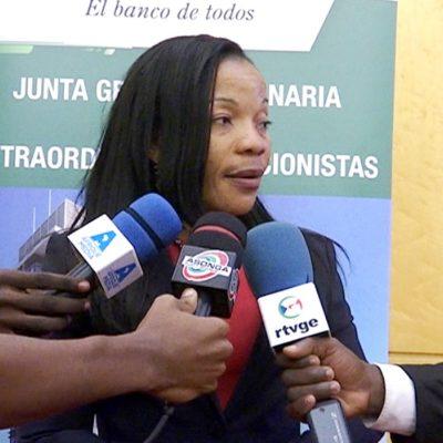 La tesorera del Estado, Milagrosa Obono se niega a transferir más de 1 millón de euros autorizados por Obiang