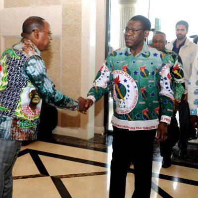 Jerónimo Osa jura lealtad al dictador Teodoro Obiang y confirma la existencia de facciones en el PDGE