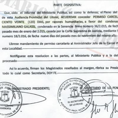 Los empresarios italianos Fabio y Filippo Galassi no fueron indultados