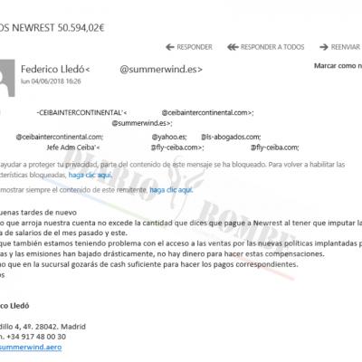 Los graves problemas económicos de Ceiba podrían provocar el cierre de la compañía