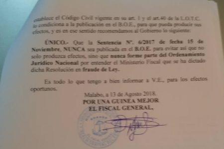 La Fiscalía General del Estado investiga al ministro de Justicia por fraude de ley y tráfico de influencias