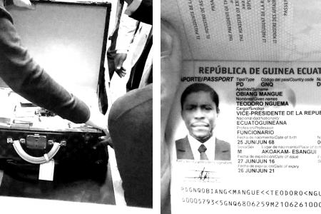 Multimillonaria incautación en Brasil al hijo del presidente de Guinea Ecuatorial