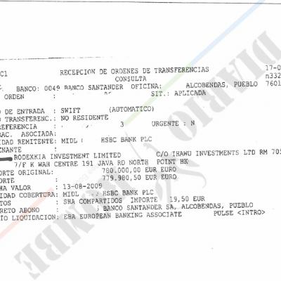 El exdirector de Ventas de Gepetrol utilizó a un testaferro para comprar una vivienda de 780.000 euros en Madrid