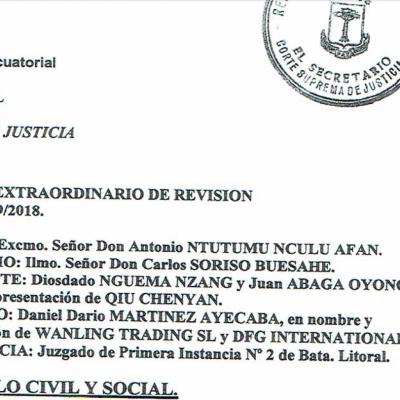 La fiscalía investiga un posible caso de soborno millonario al Presidente de la Corte Suprema de Justicia