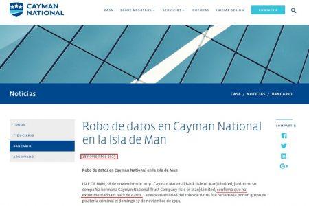 Dirigentes ecuatoguineanos en la mira de la mayor fuga de información del banco nacional de las islas caimán