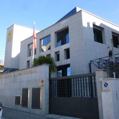 Los ecuatoguineanos en España se manifiestan una vez más frente a su embajada contra las violaciones  a los Derechos Humanos